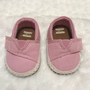 Baby TOMS slip on shoes